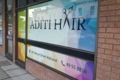 Window Graphics Printed Screen Signs
