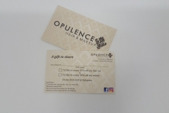 Business Cards-Printed