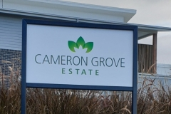 cameron-grove-estate-post and panel sign
