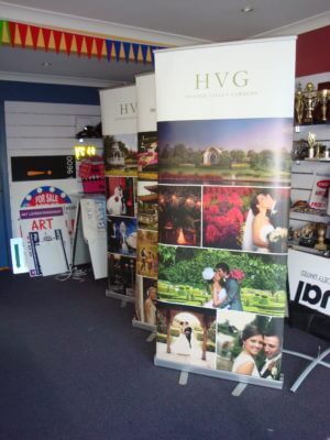 Hunter Valley Pull Up Banner