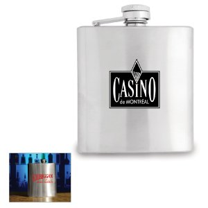 Stainless Steel Flask 180ml.