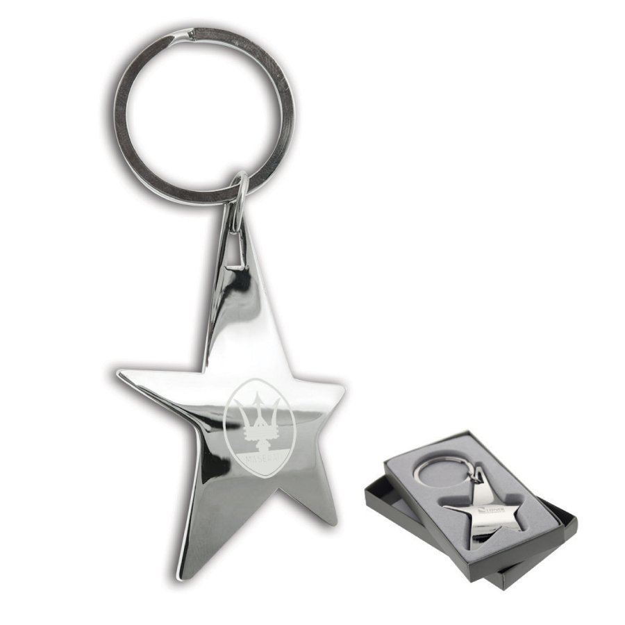 The Silver Stella Keychain