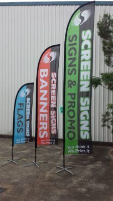 Feather Flag Banners Screen Signs