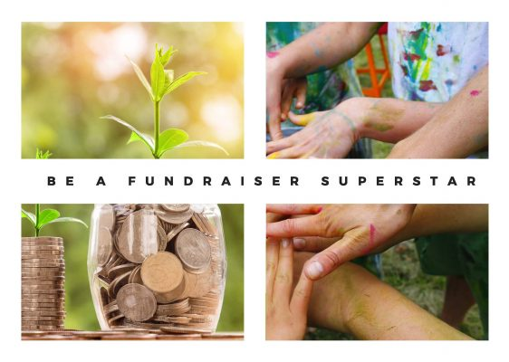 Be a fundraiser