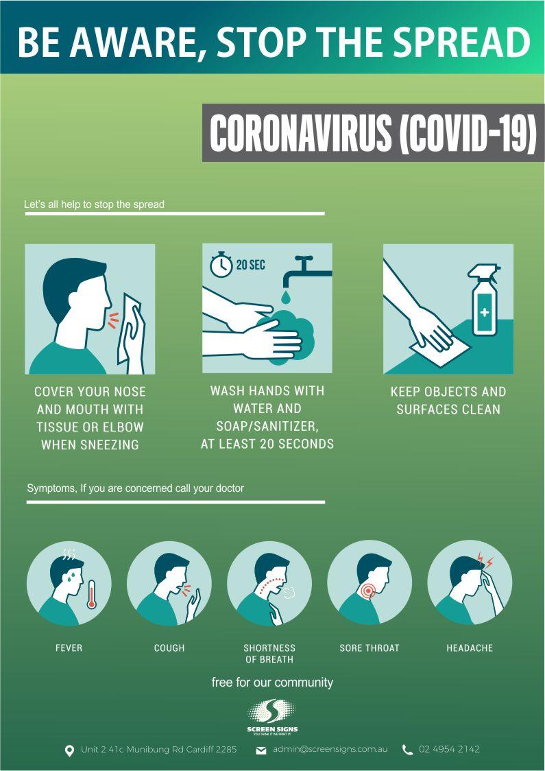 Free Coronavirus Poster