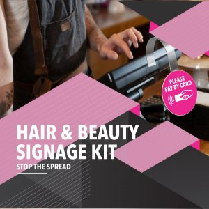 Hair & Beauty Sticker Kit